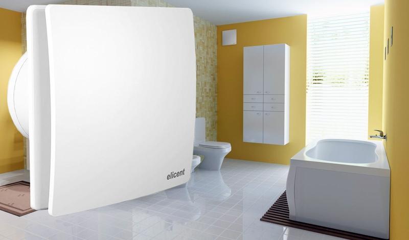 Вентиляция в ванной комнате с Elicent Elegance